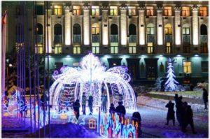 фото с Нового года в Симферополе