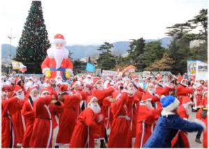 фото с парада Дедов Морозов 2018