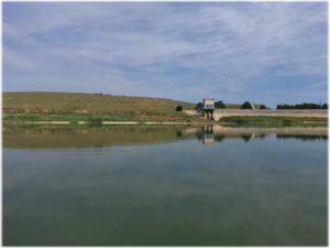 Фронтовое водохранилище в Крыму