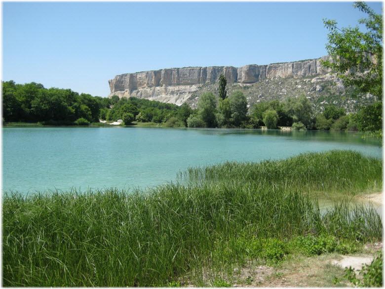 озеро в Баштановке