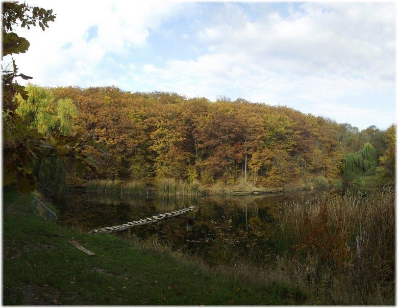 озеро в Научном