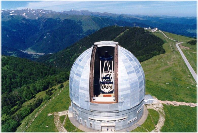 телескопы в Научном