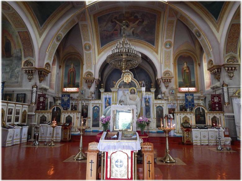 фото внутри Собора Казанской Богоматери