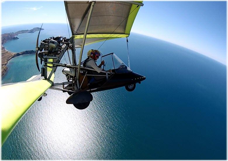 Полеты на дельтаплане в Крыму