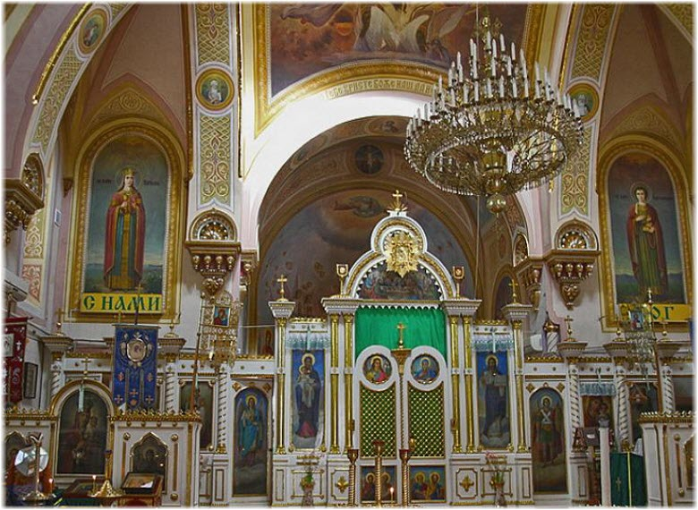 роспись Казанской церкви