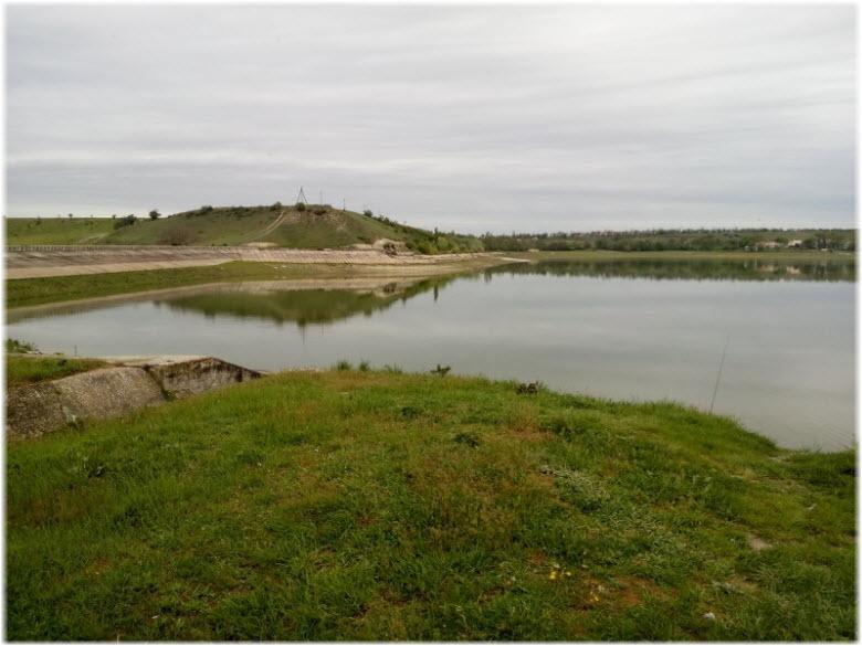 фото Альминского водохранилища