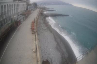 фото с веб-камеры на пляже Дельфин