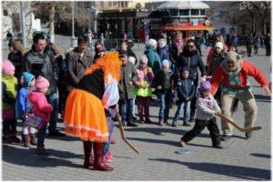 гуляния в Севастополе на Масленицу