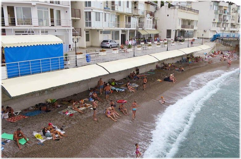пляжи в Парковом