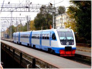 рельсовые автобусы Керчь-Анапа
