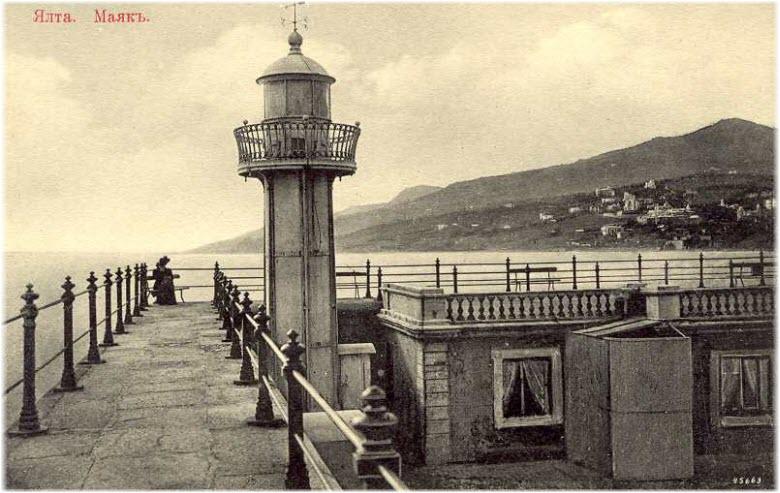 старая фотография маяка