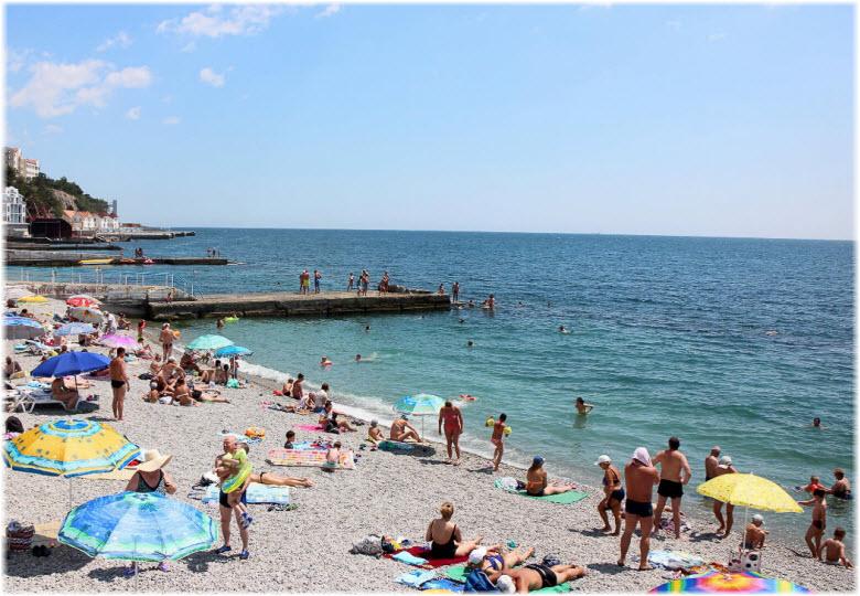 пляжи Гаспры