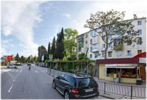 улица Ленина в Алуште