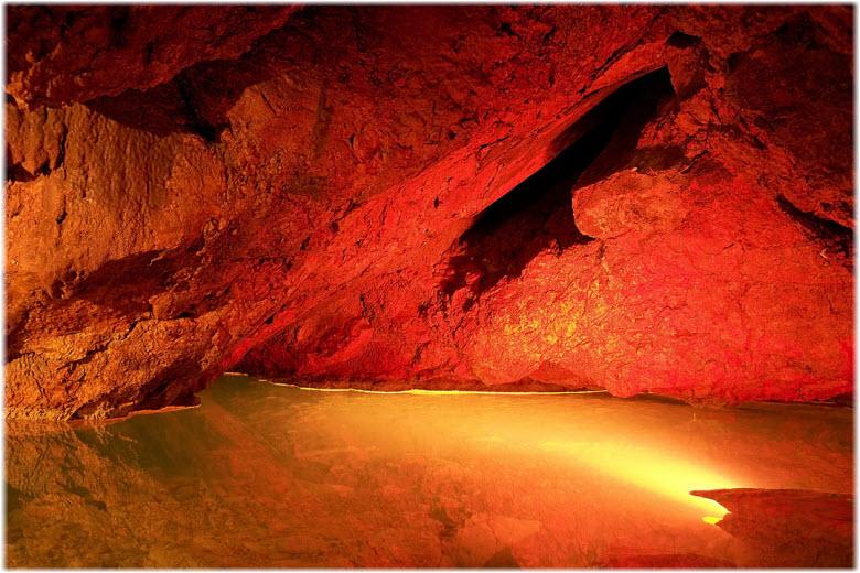 фото в пещере Кизил-Коба