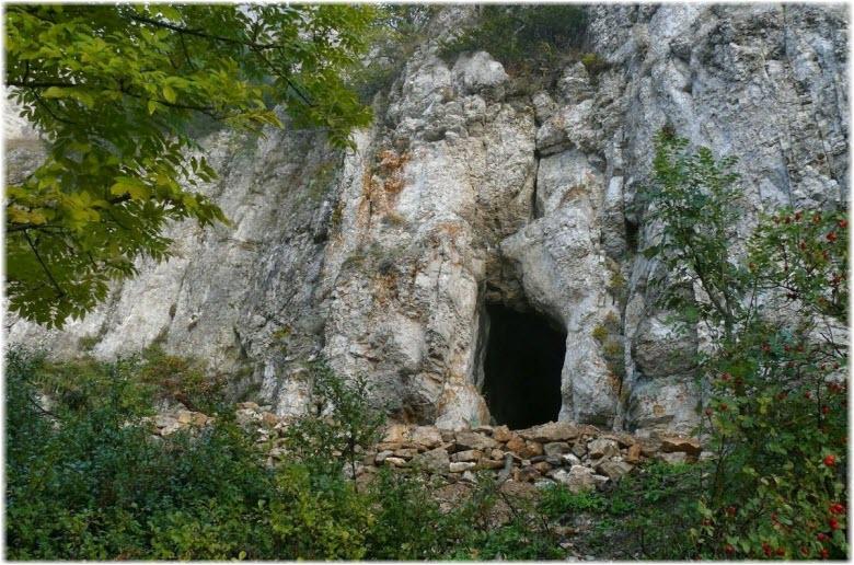 фото входа в пещеру Иограф