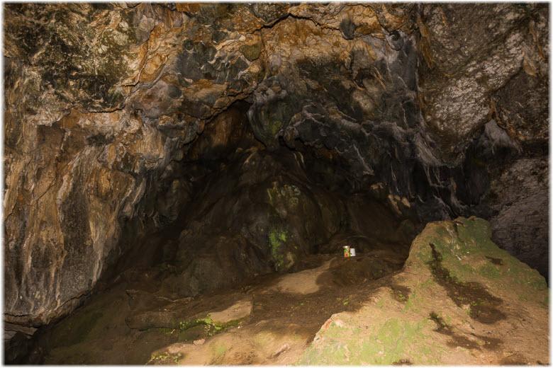 фото внутри пещеры Иограф
