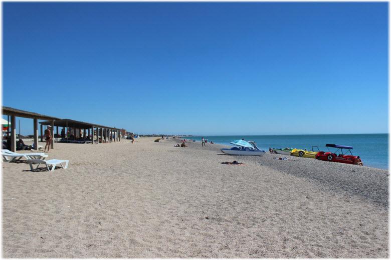 пляжи в Прибрежном