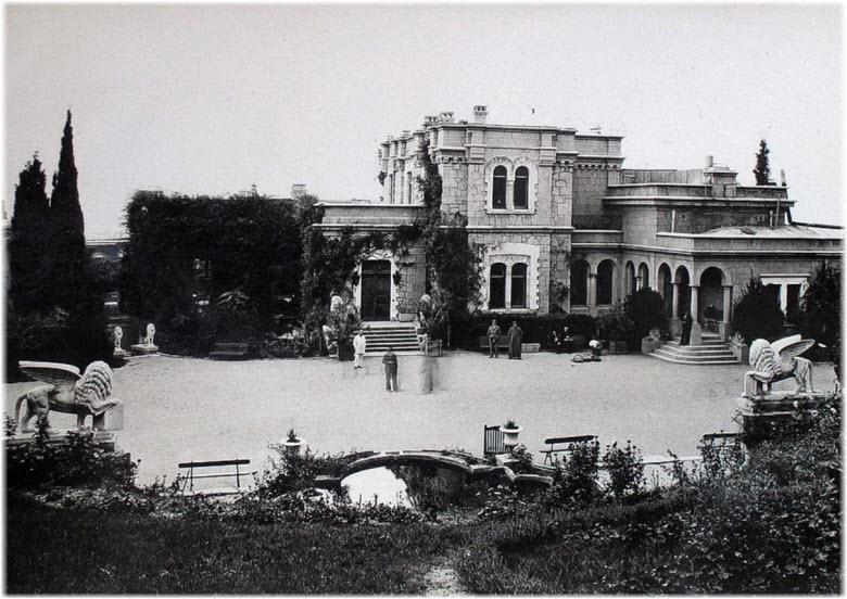 старое фото Юсуповского дворца