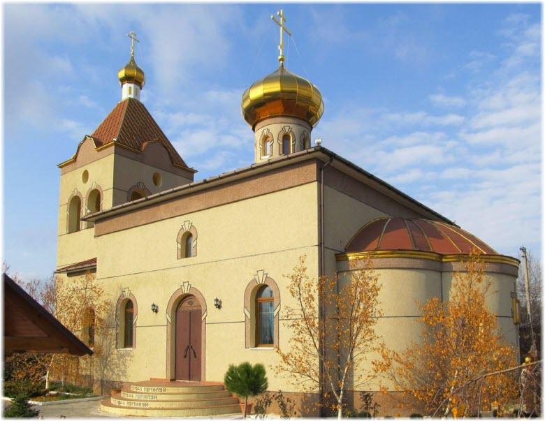 Храм Сергия Радонежского в Орлином