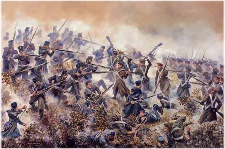иллюстрация Инкерманского сражения