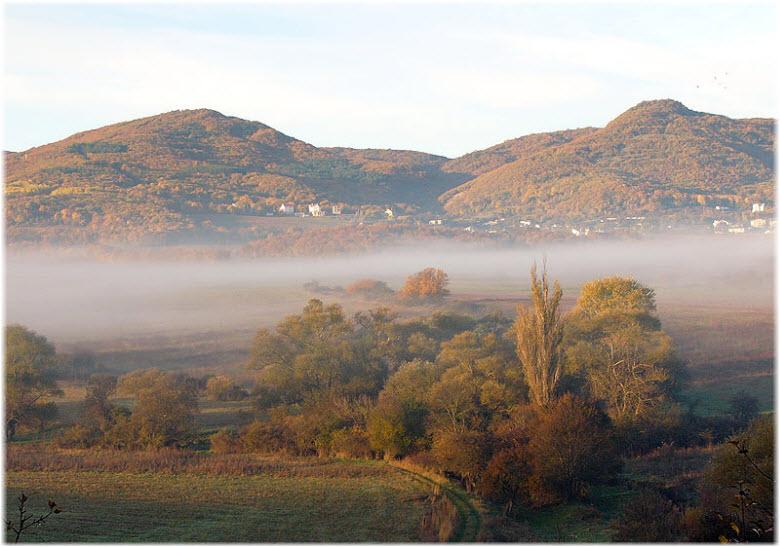 панорама поселка Гончарное