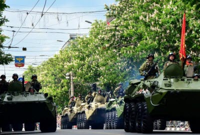 Парад Победы в Крыму 2020