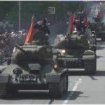 фото с репетиции Парада Победы 2020