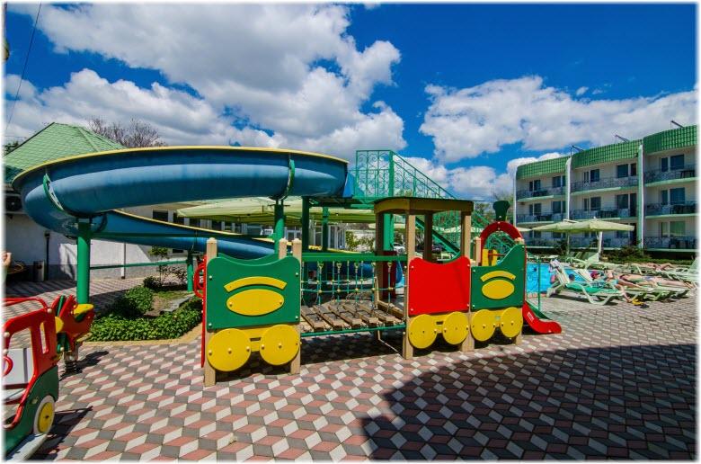 гостиницы Евпатории для детей