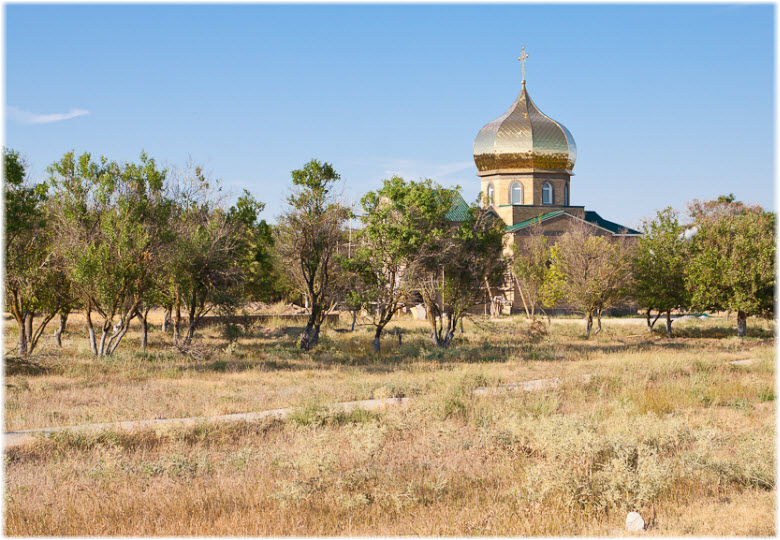 храм в селе Охотниково