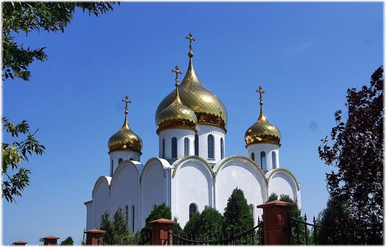 купола Ушаковской церкви