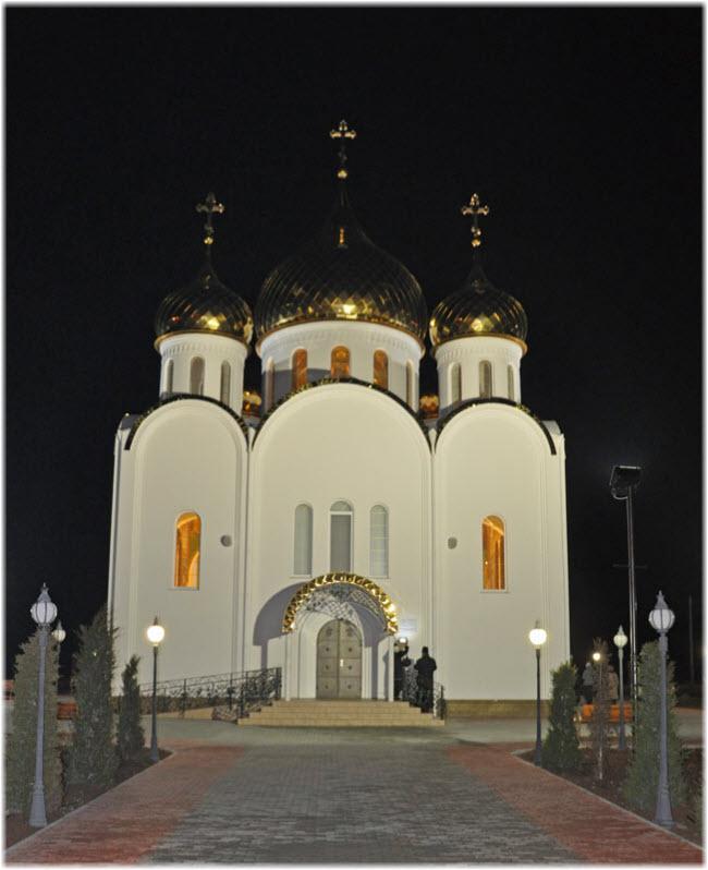 ночной храм Федора Ушакова