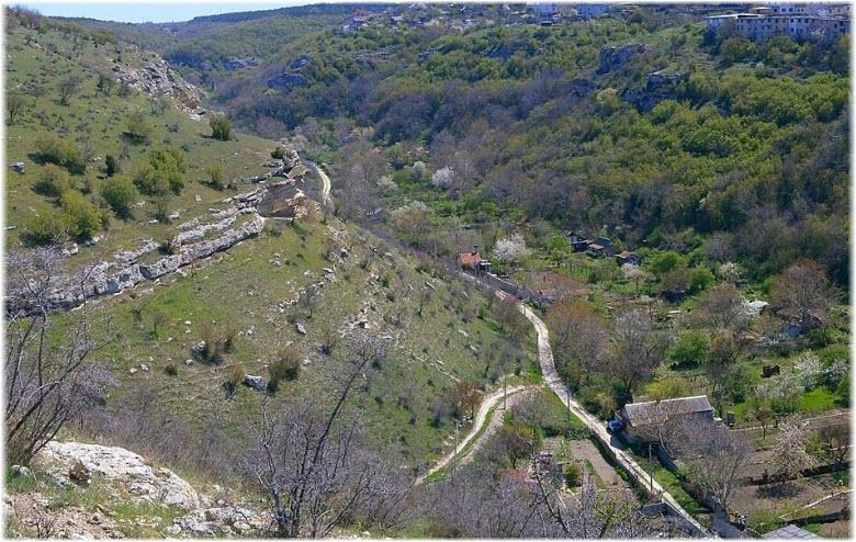 панорама Килен-балки