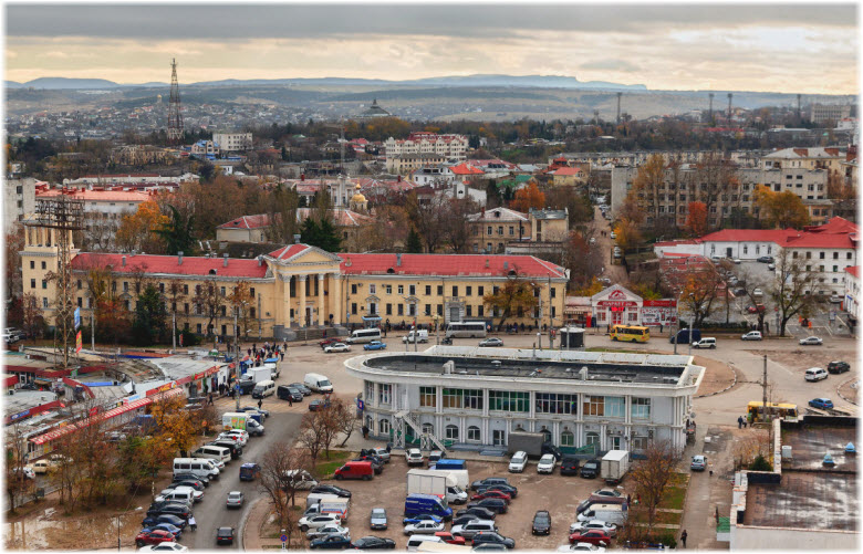 панорама площади Восставших