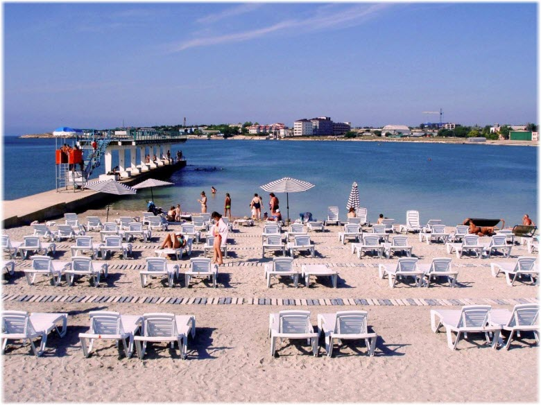 пляж Омега в Круглой бухте