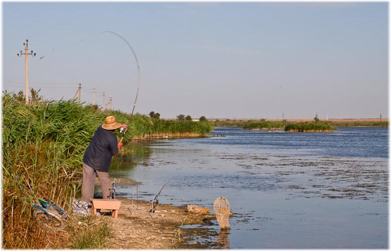 рыбалка на Петькиной речке