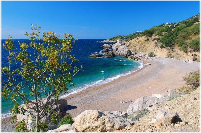 фото пляжа Таврида