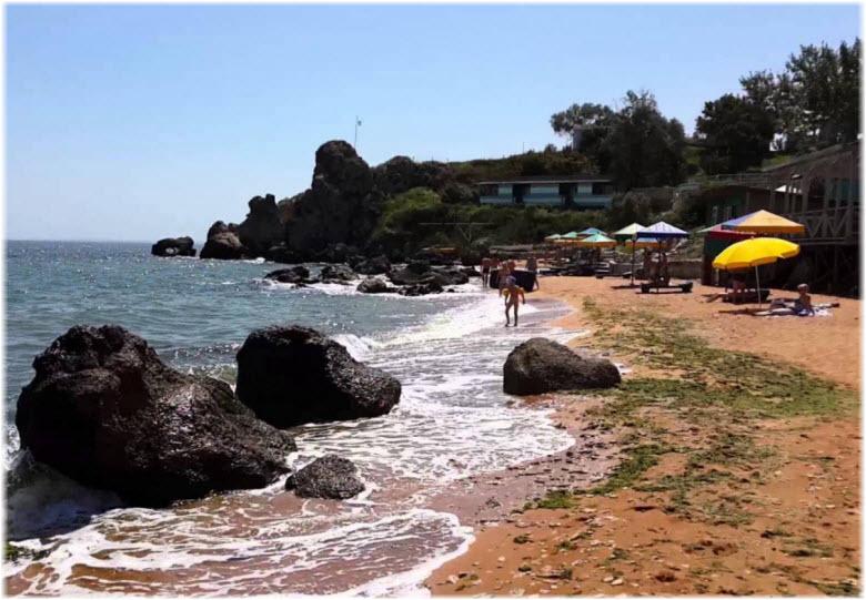 фото пляжа в Осовинах