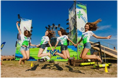 фото с фестиваля Экстрим Крым