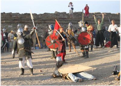 фото с фестиваля Генуэзский шлем