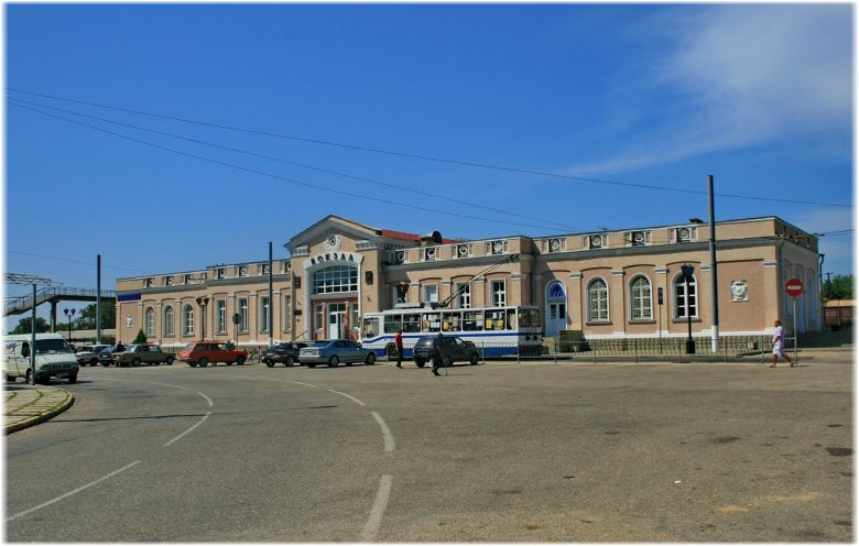 фото ЖД-вокзала Керчи