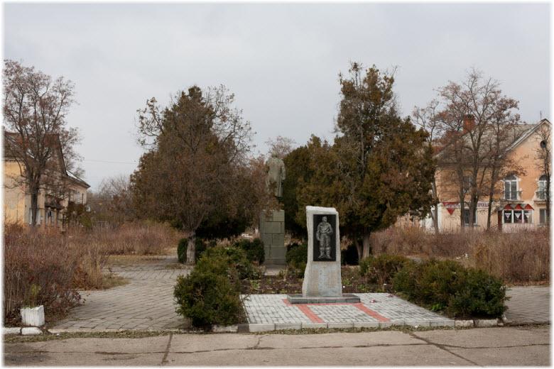 памятник Авиаторам в Багерово
