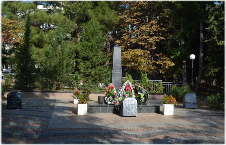 Памятник погибшим в войне