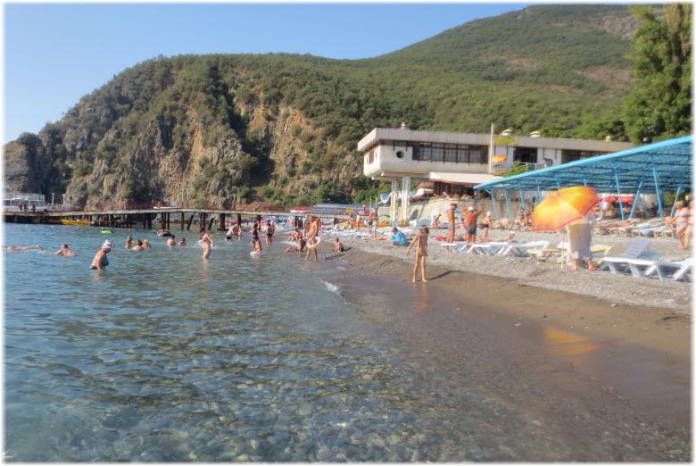 Пляж санатория «Крым»