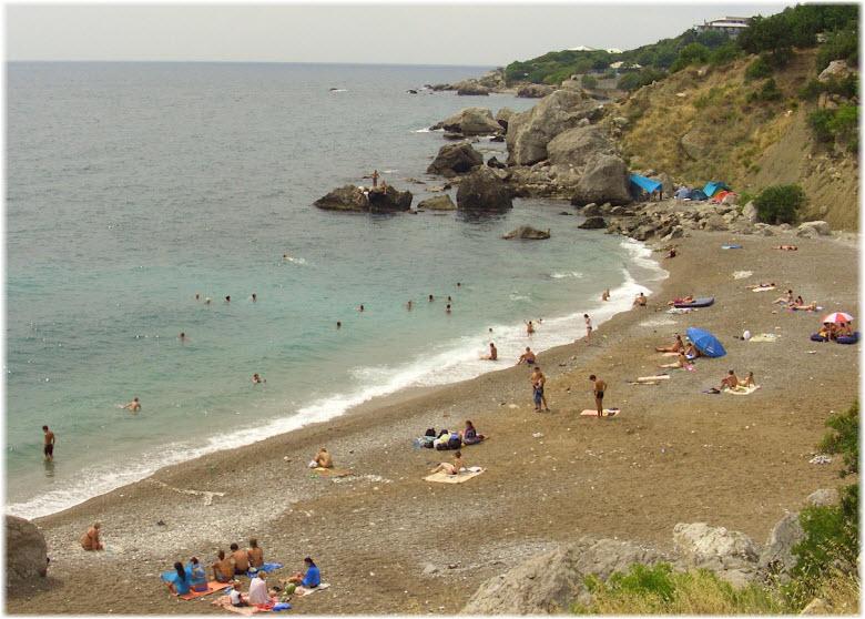 пляж Таврида в Севастополе
