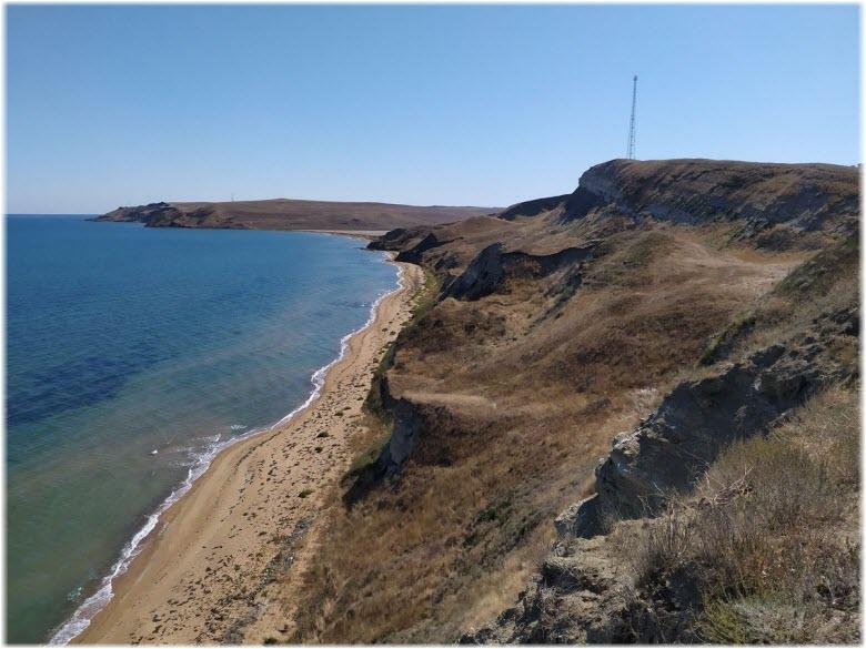 пляжи у Заветного