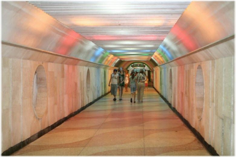 Тоннель в санатории «Крым»
