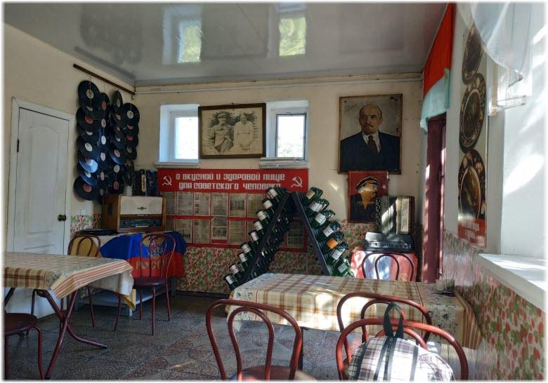 Заводская столовка СССР внутри