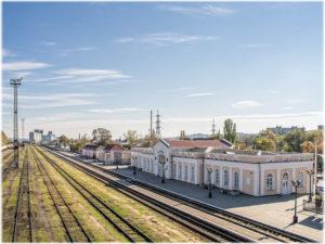 ЖД-вокзал города Керчь