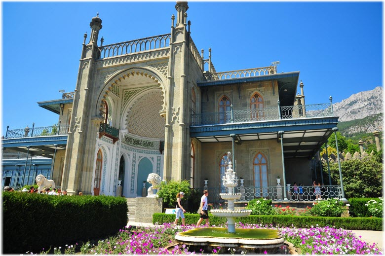 экскурсии из Симеиза к дворцам Крыма