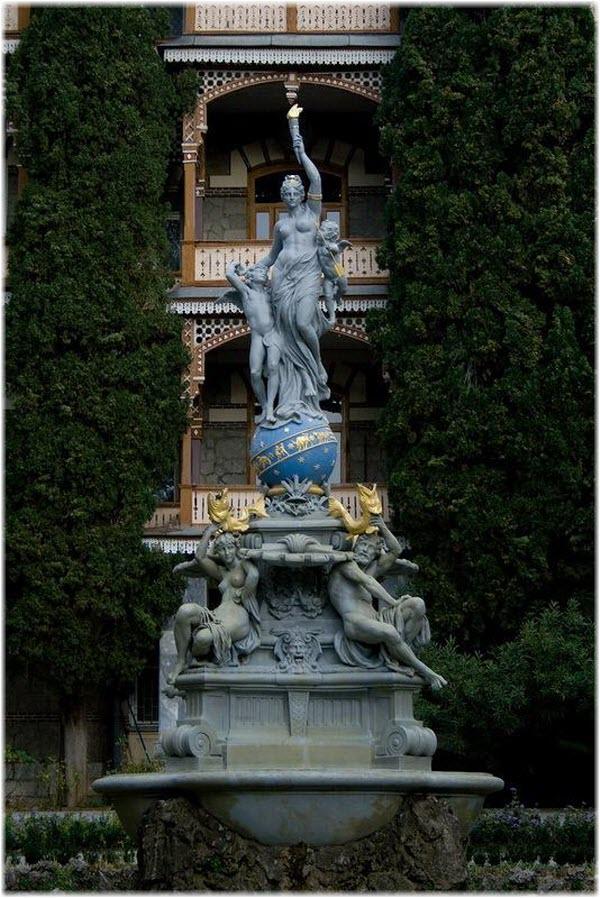 фото фонтана в высоту